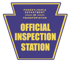 PA Department of Transportation Official Inspection Station Logo